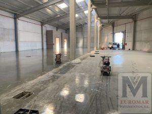 pavimento industrial en Madrid