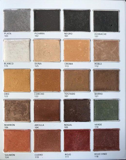 Colores de Hormigón Impreso y Pulido - Euromar Pavimentos