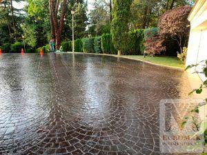 Pavimento de Hormigón Impreso para jardines y decoración de exteriores