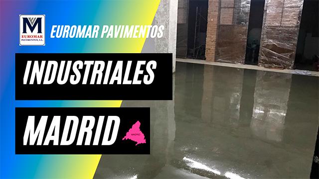 pavimentos industriales en Madrid