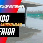 Hormigón pulido antideslizante para exteriores